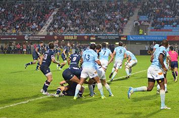 Evénements sportifs et matchs : match de rugby en France