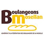 logo boulangeons mosellan, fédération des boulangers de Moselle